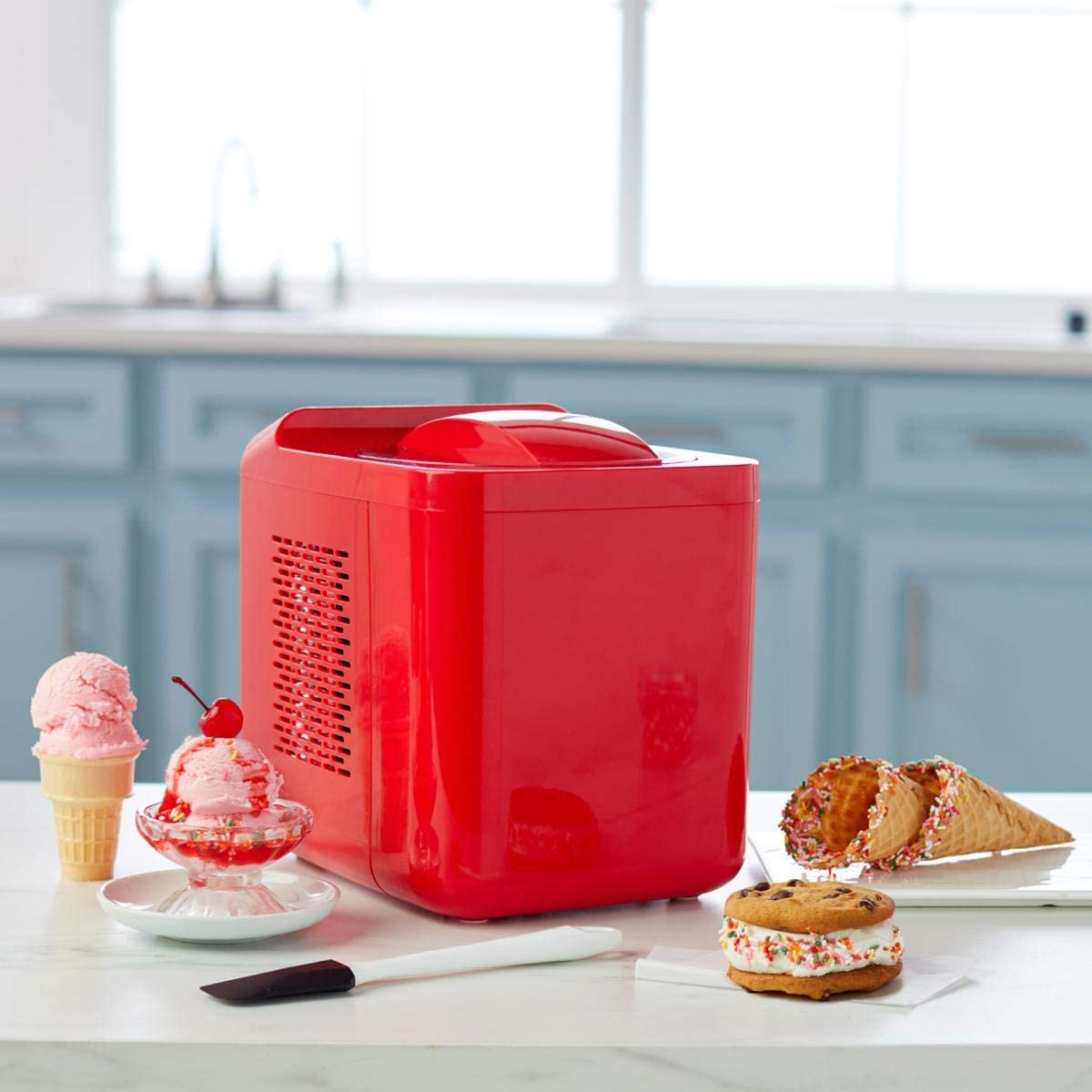 Wolfgang Puck 2.1-Pint 2 Cooling Chip Ice Cream Maker Model 683-942