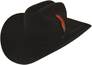 Rancher hat (7 3/4, Black)