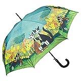 von lilienfeld® ombrello motiv automatico stabile colorato arte fiore gatto rosina wachtmeister: all together