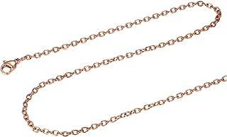 style populaire les ventes chaudes luxe Amazon.fr : chaine argent 70 cm - Plaqué or : Bijoux