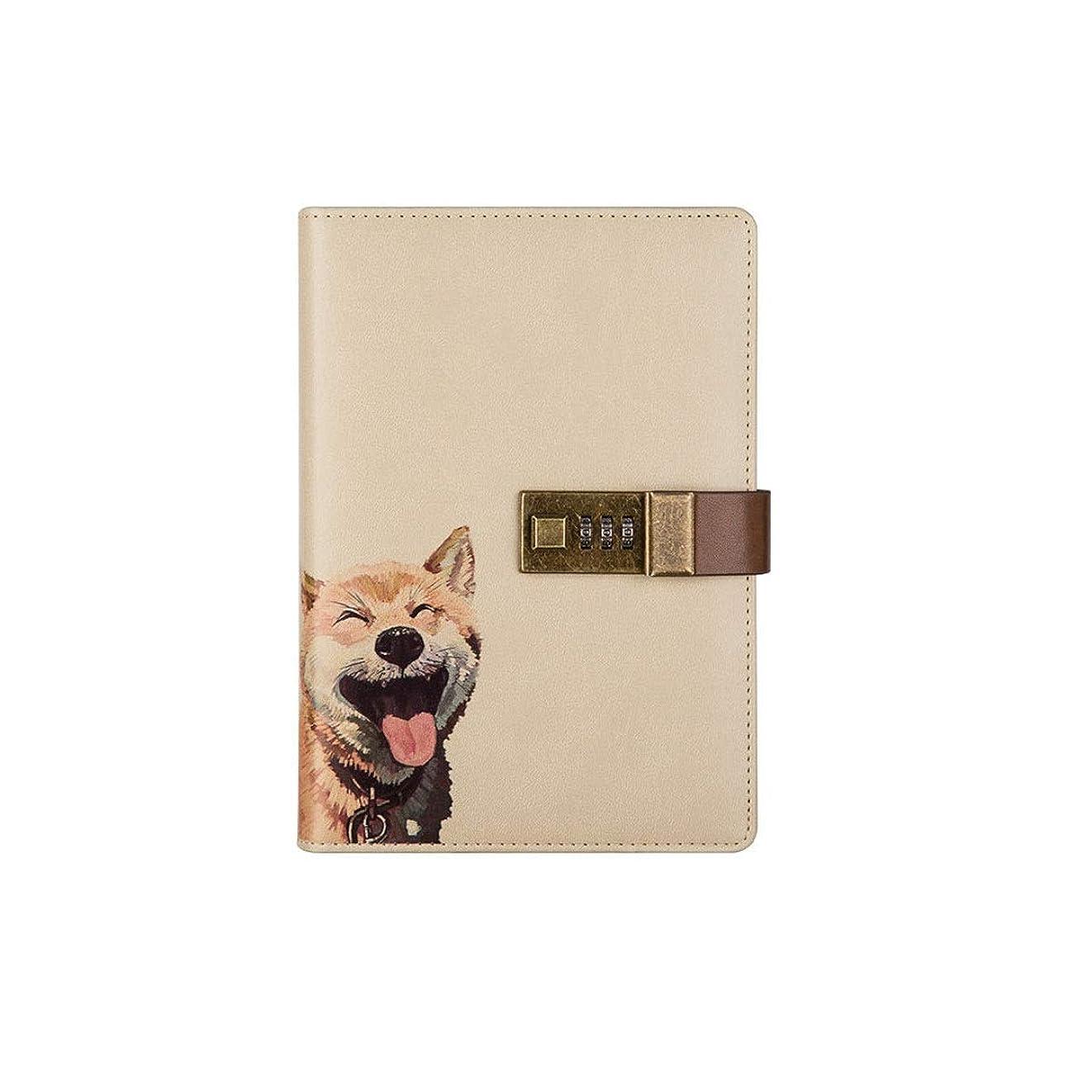 JINSHANDIANLIAO ギフトノートとペンセットギフトボックス、ノートブックセット、ホリデーギフト、秘密のコードロック日記、レトロなデザインのノート、簿記ノート、複数の種類 高品質の事務用品 (Style : C)