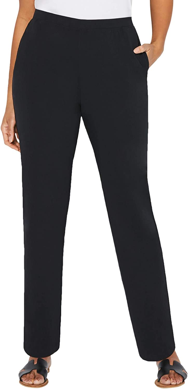 Catherines Women's Plus Size Tall Suprema Pant