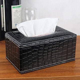 Skrzynka do przechowywania tkanek Organizator Tissue Box Skórzany Pudełko Pompownia Strona główna Hotel Specjalny Papier P...