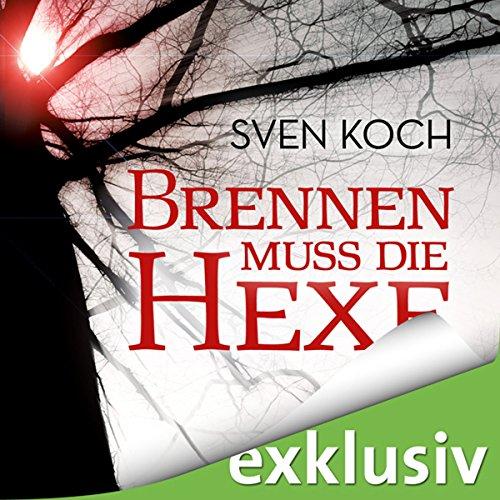 Brennen muss die Hexe audiobook cover art