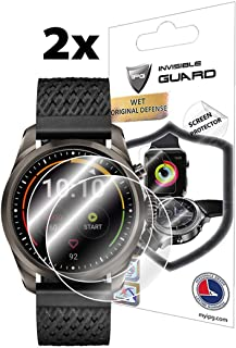 IPG IPG for MONTBLANC Summit 2 SMARTWATCH Screen Protector (2 Units) Invisible Ultra HD Clear Film Anti Scratch Skin Guard...