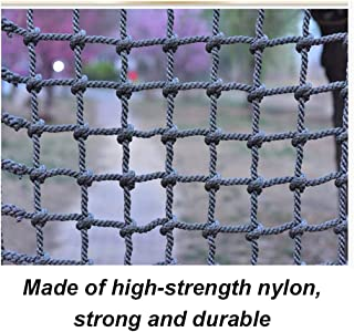 LYRFHW Nylon Nets Kindergarten Outdoor Protection Nets, Multi-Function Safety Netting Child Protection Climbing Net Amusement Park Rope Nets, Stair Balcony Anti-Fall Net (18mm / 20cm)