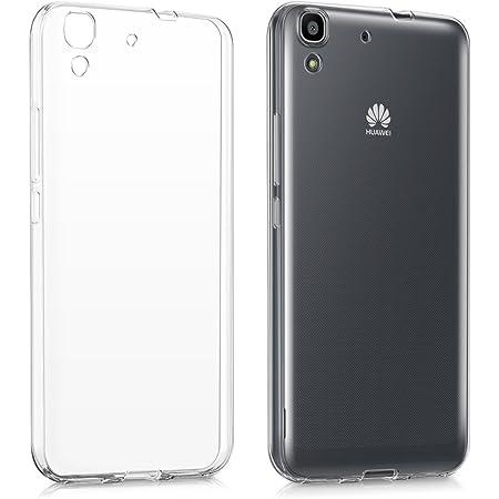 Kwmobile Hülle Kompatibel Mit Huawei Y6 2015 Handyhülle Handy Case In Transparent Elektronik
