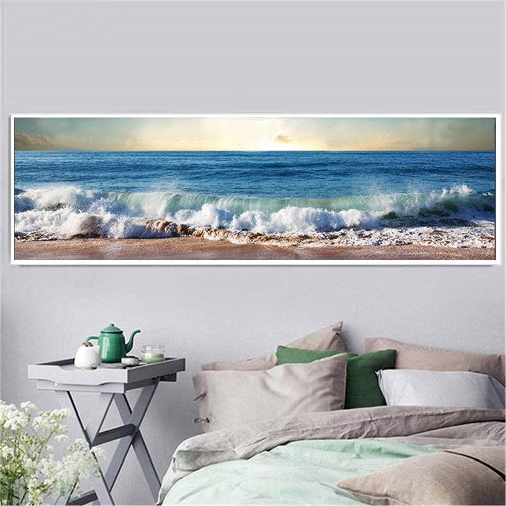 Large DIY 5D Diamond Painting Kits Beach Full Adults Scenery Excellence Japan's largest assortment for
