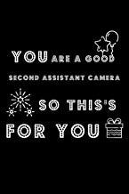 happy birthday: you are a good second assistant camera: happy birthday: this is for you-Lined Notebook / journal Gift,120 ...