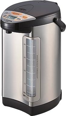 Zojirushi America Corporation Vacuum-Electric Hybrid Water Boiler and Dispenser, 5-Liter, Stainless Dark Brown