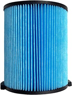 Ketofa WD0970 Filter Replace for Ridgid Fits Ridgid WD0671 VF5000 WD06700 WD0671EX0 WD1270 WD1450 WD1851 WD09700 WD1680 RV2400A, Washable & Reusable