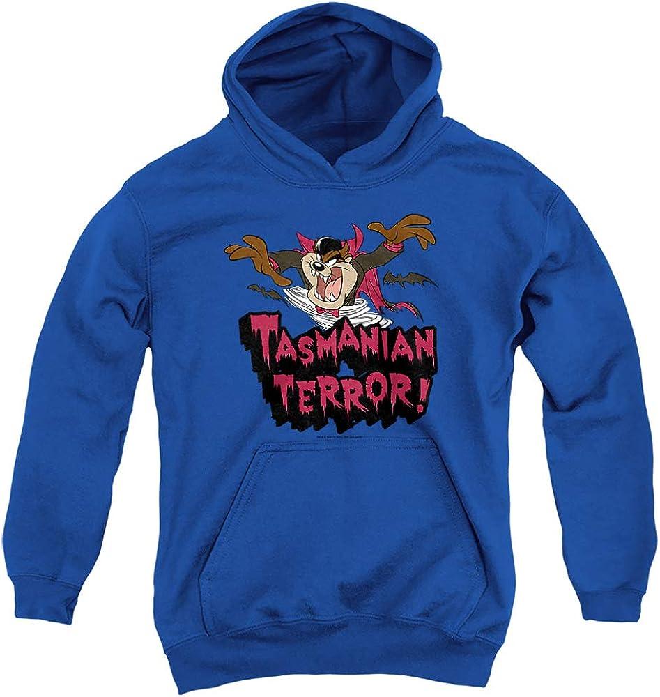 Looney Very popular Tunes Taz Terror Unisex 5 ☆ popular Hoodie Youth Pull-Over