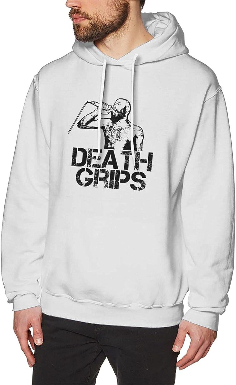 Death Grips American Excellence Hip Hop Elegant Men'S Novelty Hoodie Ne Crew Fitted