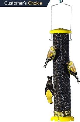 Woodlink NAWLNT Audubon Die Cast Aluminum Finch Screen Tube Wild Bird Feeder 13-Inch