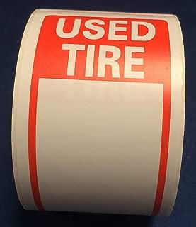 tire label stickers