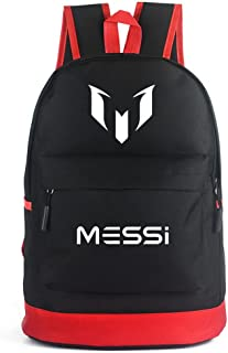 e6fa1d4e5 Backpack for Travel Laptop Vintage Simple style School College Student  C-Ronaldo And Messi Football