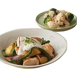 [冷凍] ミールキット Oisix 鶏と野菜のしょうが醤油 とろろがけ 2人前