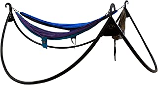 ENO - Eagles Nest Outfitters Pod Triple Hammock Stand, Charcoal