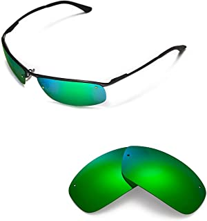 Walleva Replacement Lenses for Ray-Ban RB3183 63mm Sunglasses - Multiple Options Available