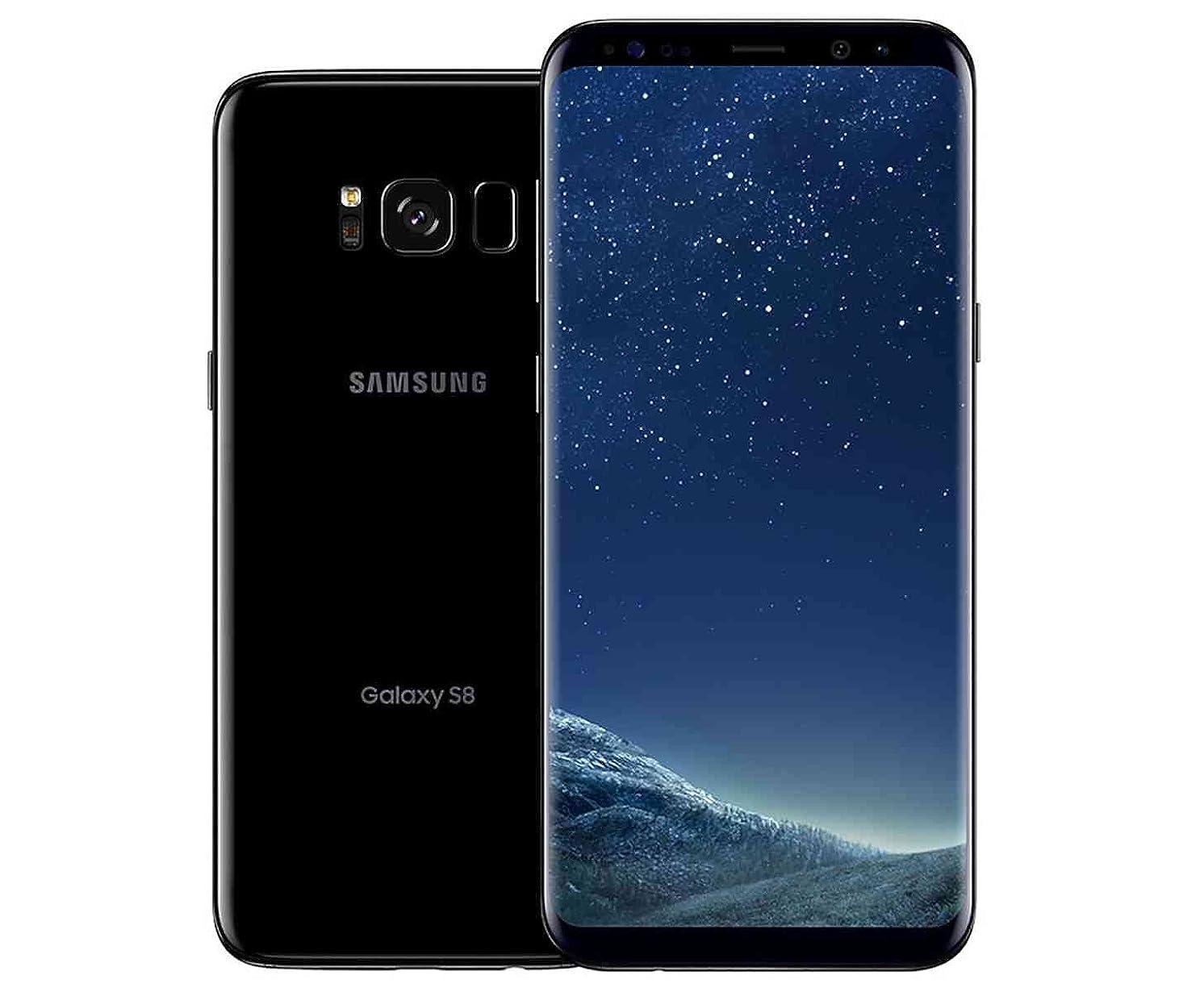 Samsung Galaxy S8 64GB Factory Unlocked Smartphone - US Version (Midnight Black) - US Warranty - [SM-G950UZKAXAA]