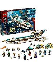 LEGO 71756 NINJAGO Hydro Bounty Onderzeeër Speelgoed met Kai en Nya Minifiguren, Ninja Set voor Kinderen van 9+ Jaar