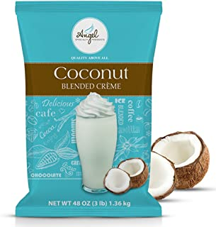 Coconut Blended Crème Mix by Angel Specialty Products [3 LB]