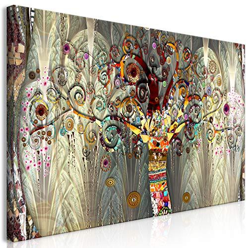 murando Cuadro Mega XXXL Arbol 170x85 cm Cuadro en Lienzo en Tamano XXL Estampado Grande Gigante Imagen para Montar por uno Mismo Decoración De Pared Impresión DIY Gustav Klimt l-A-0005-ak-e