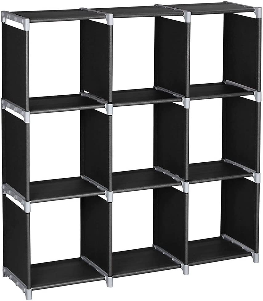 3 Tier 9 Compartment Storage Inventory Colorado Springs Mall cleanup selling sale Organizer Shelf Living Closet Cube