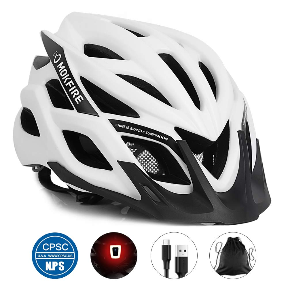 MOKFIRE Rechargeable Bicycle Helmet Replacement 22 05 24 41