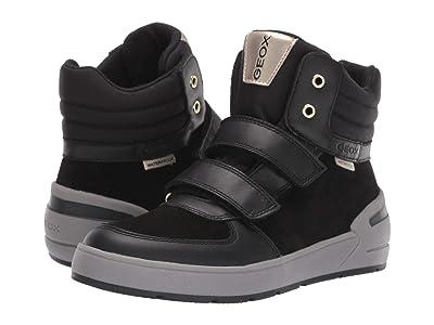 Geox Kids Jr Sleigh Waterproof 1 (Little Kid/Big Kid) (Black Oxford) Girls Shoes