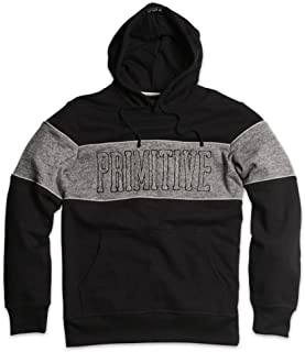 Primirive Apparel Sprinter Piped Hoodie Black Grey Pullover Men's Sweatshirt