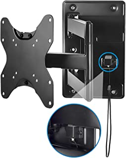 Mount-It! Lockable RV TV Wall Mount with Quick Release, Full Motion Flat Screen Bracket for Campers, Travel Trailers, RVs, Motorhomes and Marine Boats, Fits Most 23-43