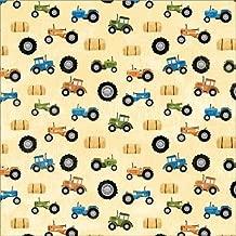 KAREN FOSTER Design Scrapbooking Paper, 25 Sheets, Tractors, 12 x 12
