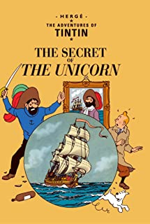 The Secret of the Unicorn by Herge - Paperback