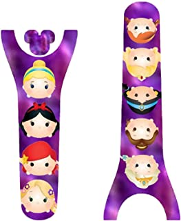 Vinyl Skin Decal Wrap Sticker Cover for the MagicBand 2 Magic Band 2 Princess Friends Themed