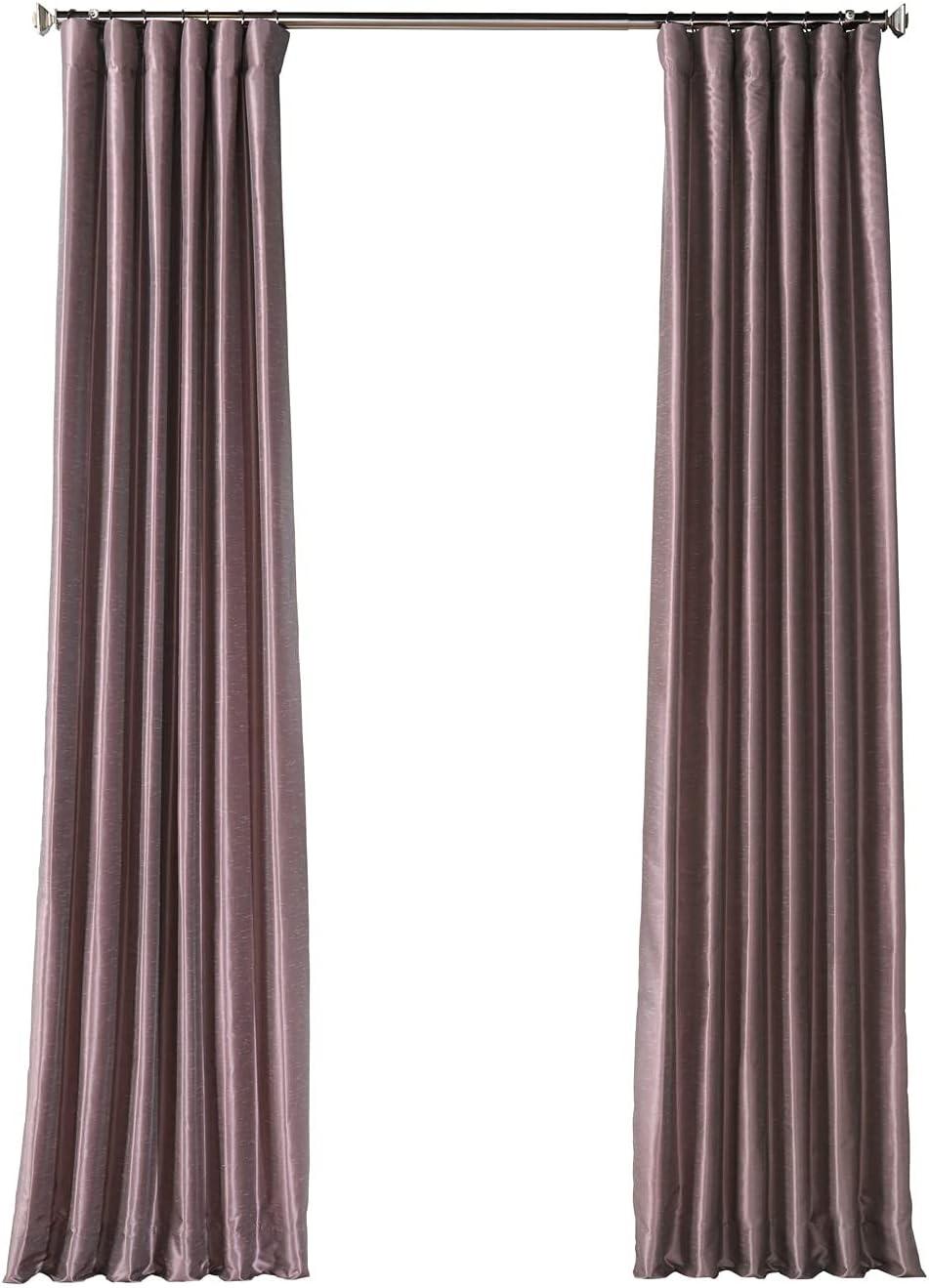 HPD Half Inexpensive Price Drapes Fresno Mall PDCH-KBS11BO-84 Blackout Vintage Textured