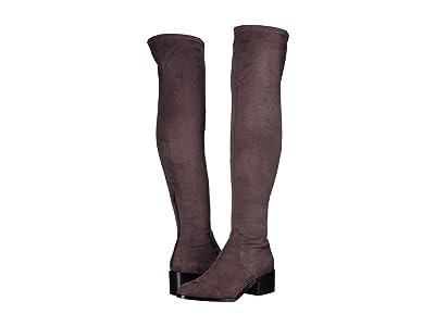 Steve Madden Georgette Over the Knee Boot (Dark Grey) Women