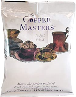 Coffee Masters Perfect Potful Butter Pecan Ground Coffee, 1.5-Ounce Packets (Pack of 12)