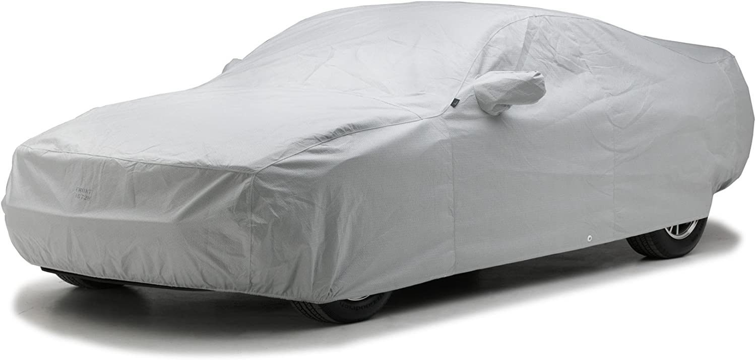 Fleeced Satin FS877F5 Covercraft Custom Fit Car Cover for Select Ford 1//2 Ton Pickup Models Black