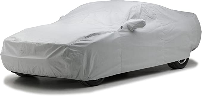 Covercraft Custom Fit Car Cover for Select Cadillac 60S Models Black Fleeced Satin FS9983F5