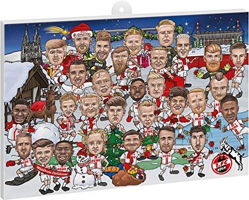 1. FC Köln Adventskalender Karikatur 2020, 4080427