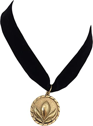 American Vogue Princess Anna Coronation Choker Necklace (Adults, Bronze)