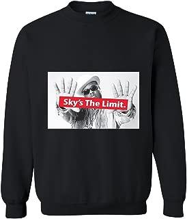 Hip Hop Legend Biggie - Sky The Limit Crewneck Sweater