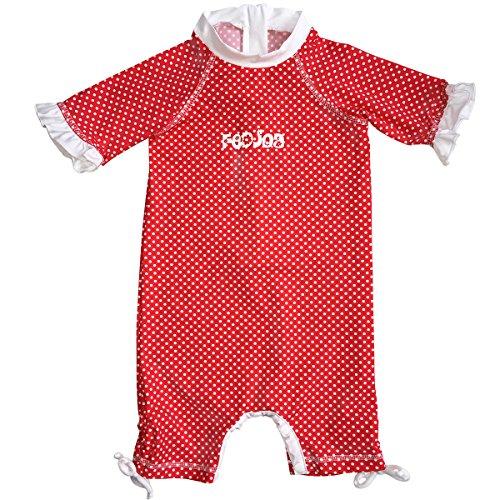 FEDJOA - Combinaison Anti UV et Anti Sable UPF 50+ - bébé Fille - Lucia 18/24M 10-12 kg