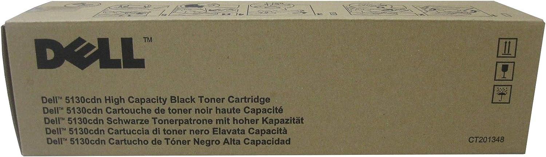 Original Dell 330-5846 Black Toner Cartridge for 5130cdn Color Laser Printer