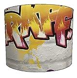 DELPH DESIGN LIGHTING LTD 20,3cm Graffiti Street Art Kinder Lampenschirm für eine Tabelle Lampe, 30,5 cm