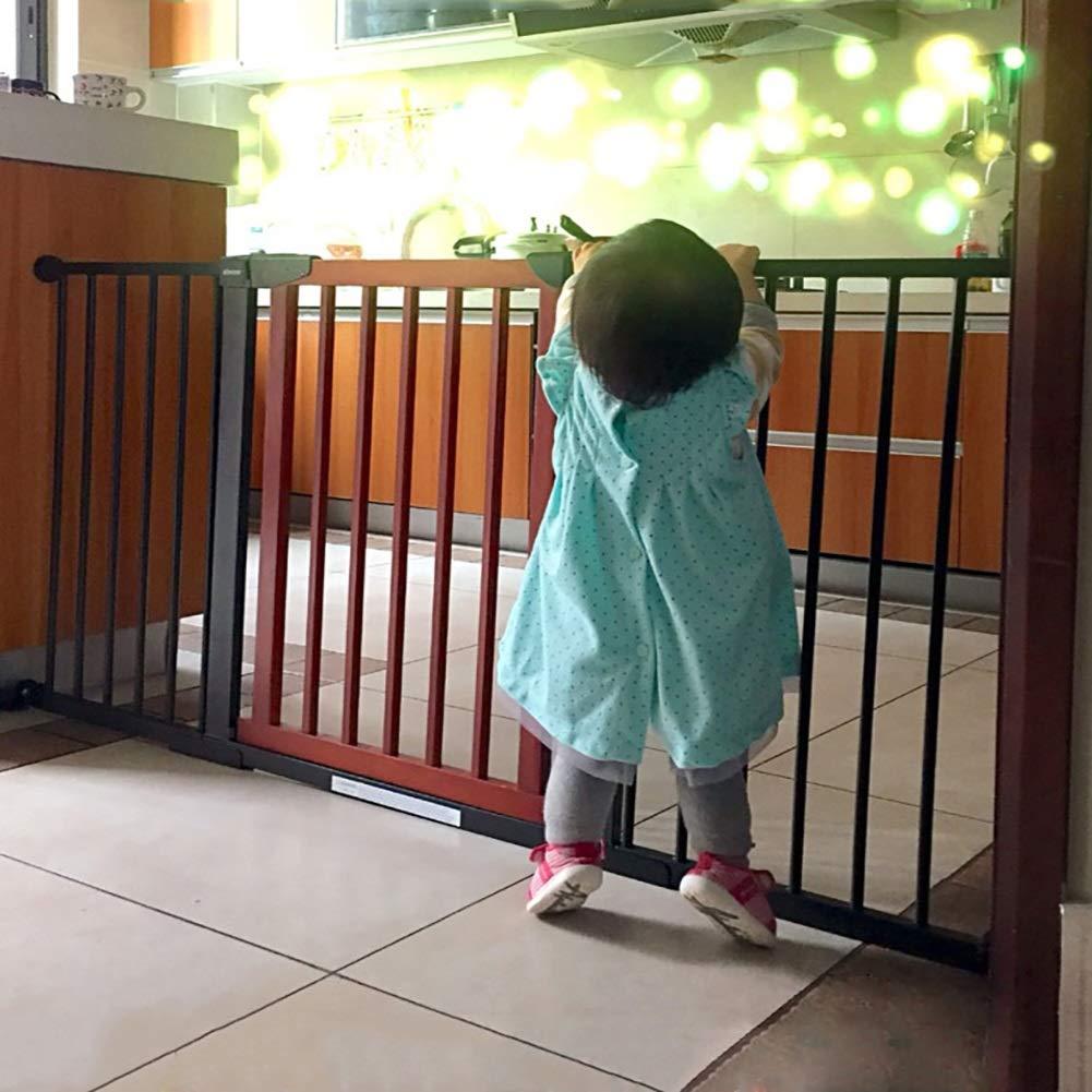 Puertas De Seguridad para Bebés Barrera para Escaleras, Cercado para Perros para Mascotas Parque Infantil Puerta De Aislamiento para Puertas para El Hogar, Altura 74,5 Cm (Tamaño : 75-82cm): Amazon.es: Hogar