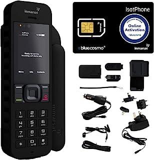 BlueCosmo Inmarsat isatphone 2.1 Satellitentelefon Kit 1: SIM Karte enthalten (No Airtime)