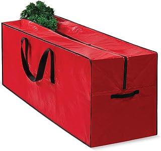 Christmas Tree Bag for Christmas Tree Storage Bag - Xmas Tree Bag fits 8 FT Artificial dissembled Tree - Heavy Duty Christ...