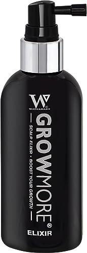Best Hair Growth Serum - Watermans Grow More Elixir of Hair 100ml - Hair Growth & Hair Thickening Leave In Topical Sc...
